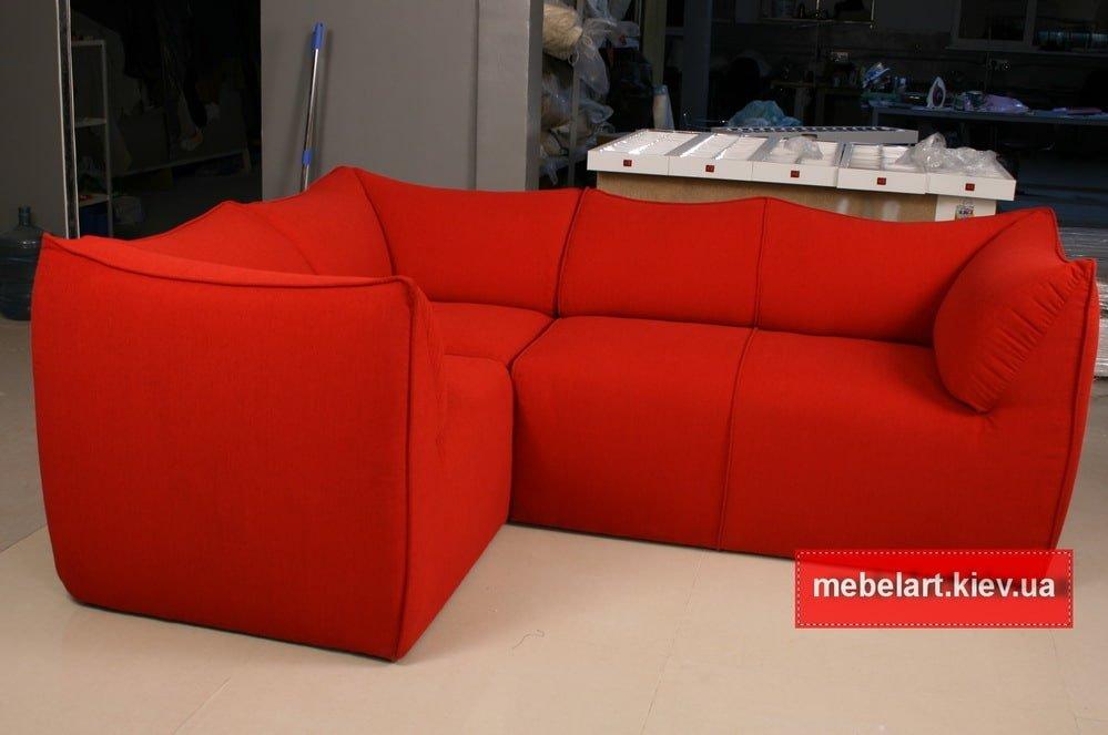 Угловой гламурный диван на заказ в Харькове