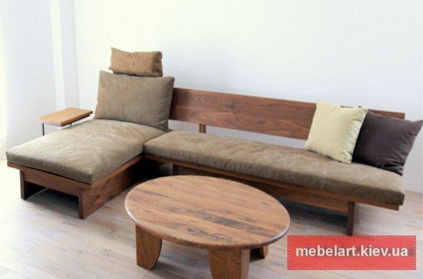 угловой диван  loft с круглым столом в одессе
