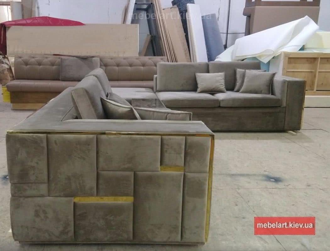 как делают модульные диваны