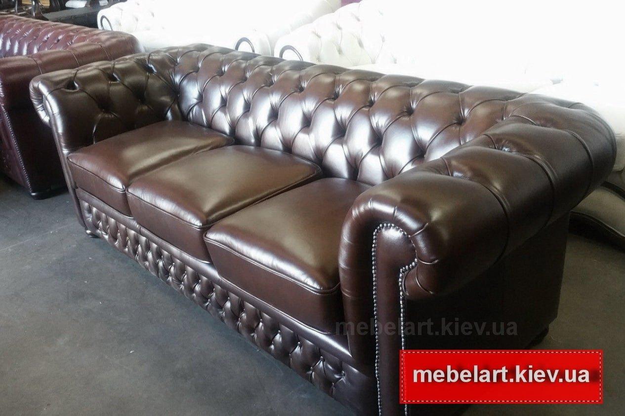 элитная мягкая мебель  из кожи