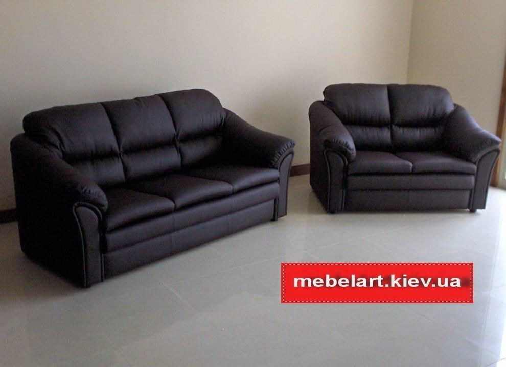 два черный дивана