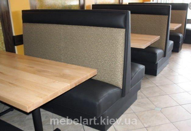 Производство диванов для кафе