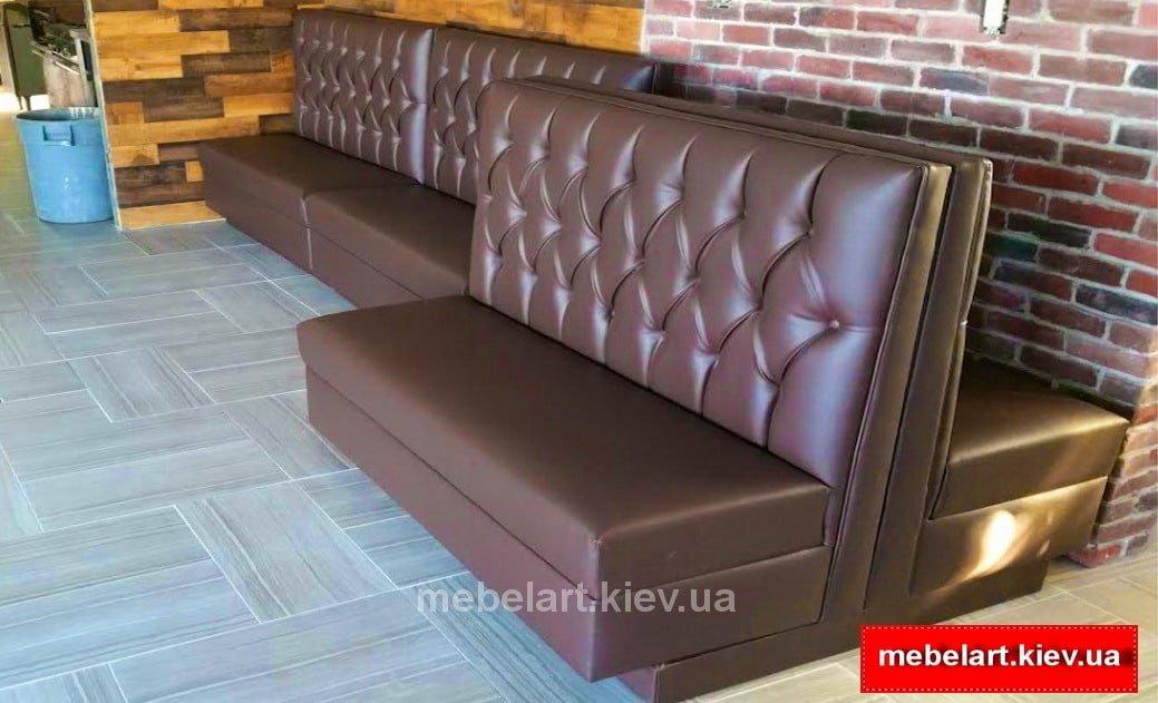 купить недорого прямой диван для кафе