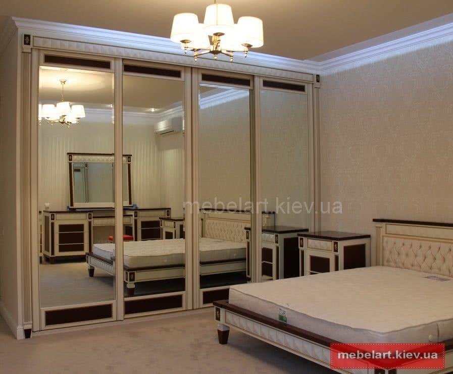 спальня под заказ в киеве по доступной цене от компании мебеларт