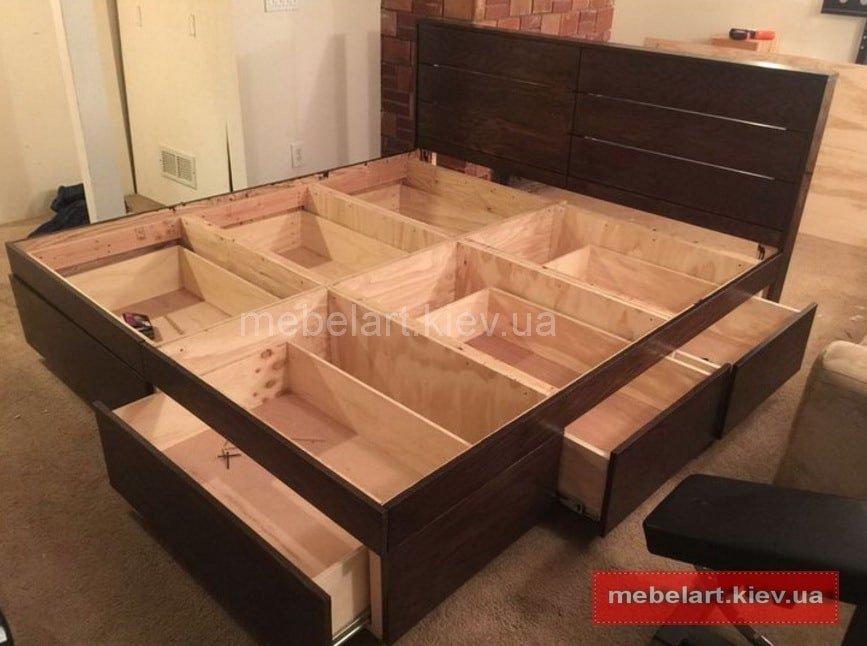 lit en bois sur demande
