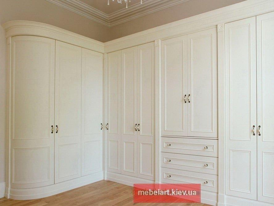 деревянный угловой шкаф Москва