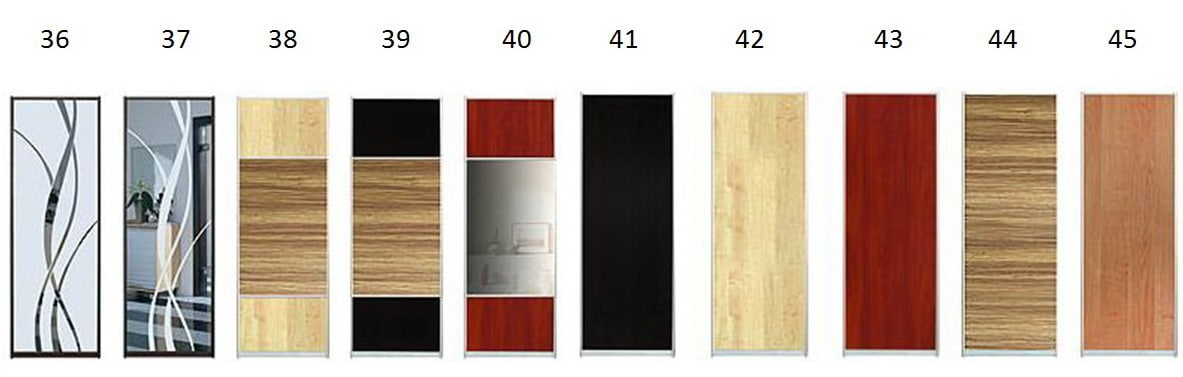 Фасады для шкафов-купе