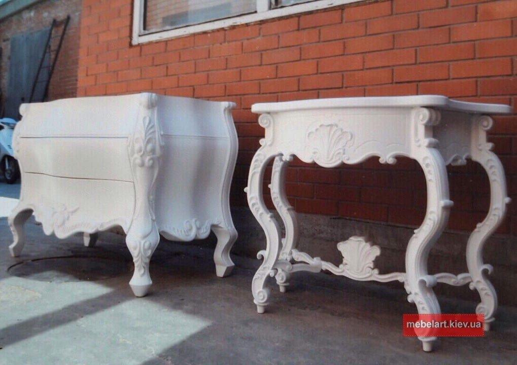 мебель в спальню барокко
