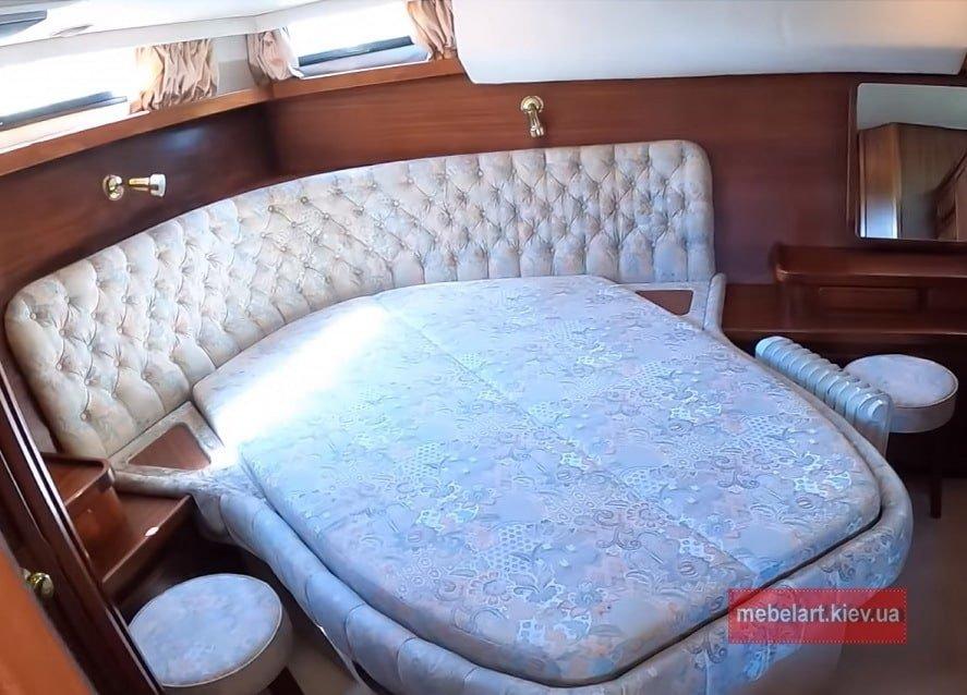 угловая кровать для корабля