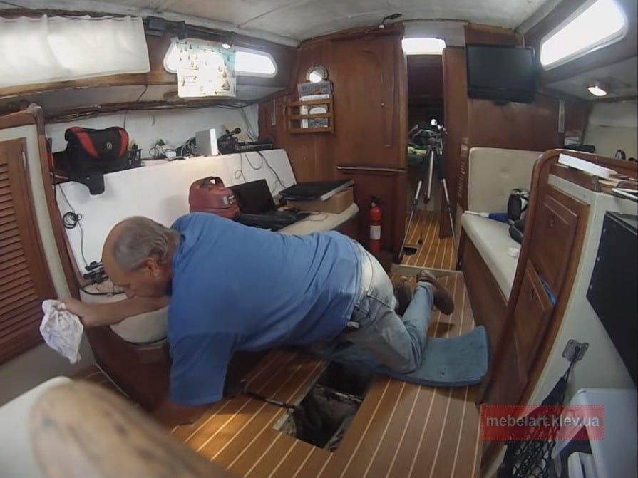 обустройство яхты
