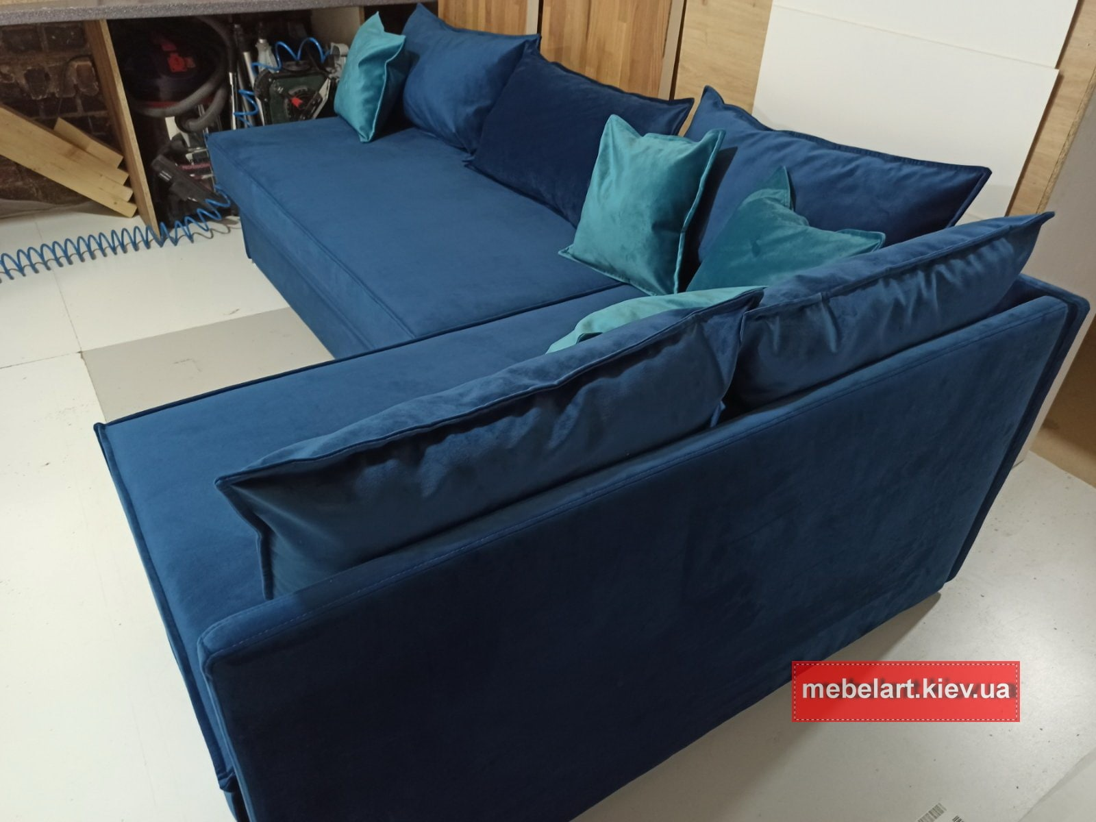 upholstered furniture with a berth