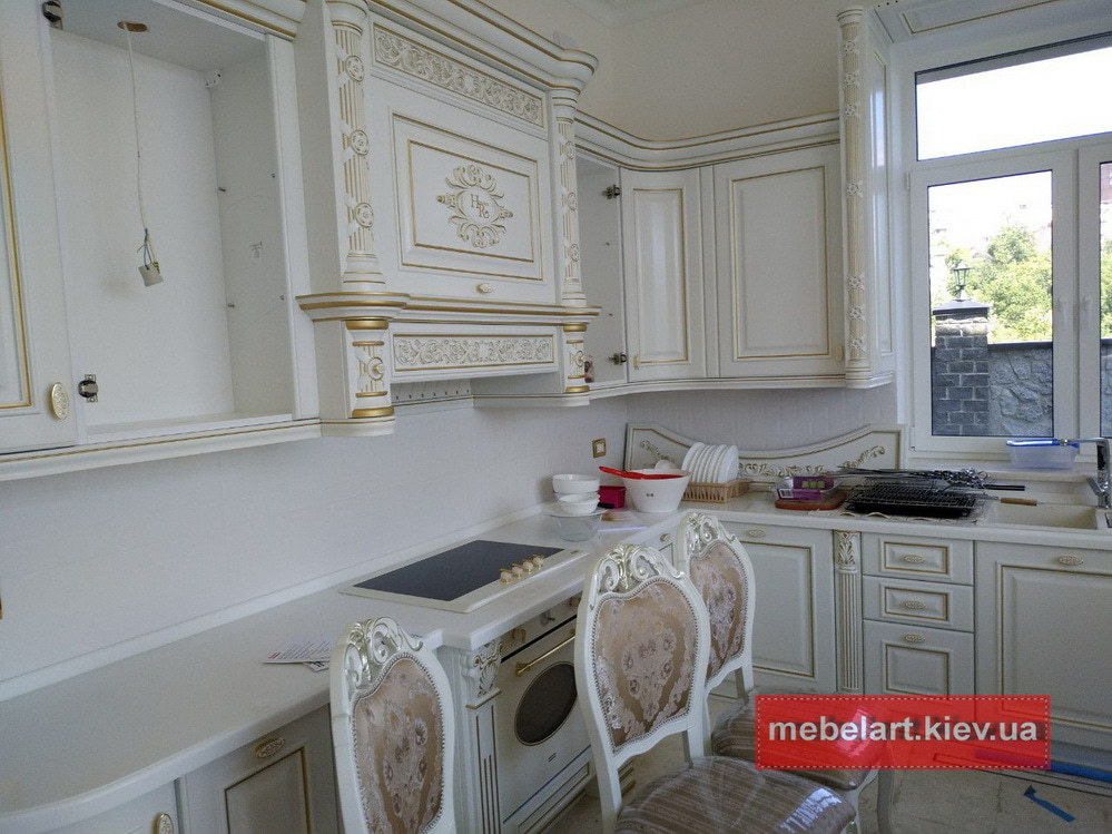 кухня из дерева на заказ Украина