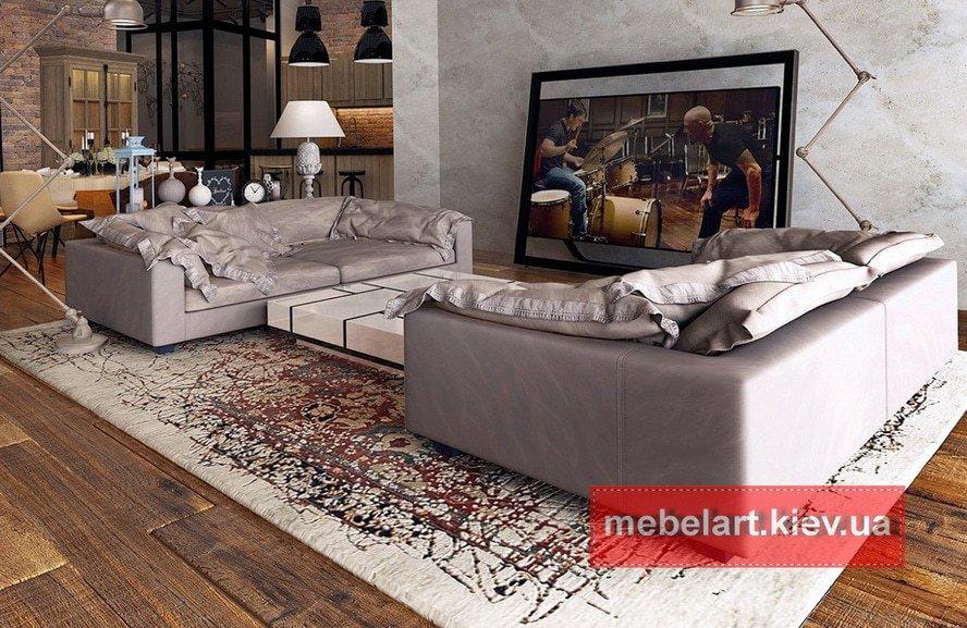 продажа элитных прямых диванов