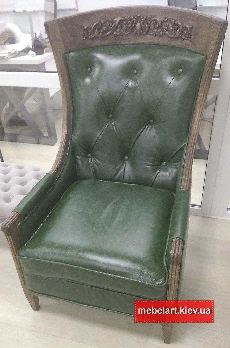 эксклюзивные кресла на заказ  из кожи