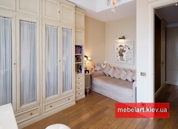 шкаф и кровать для спальни на заказ Борисполе
