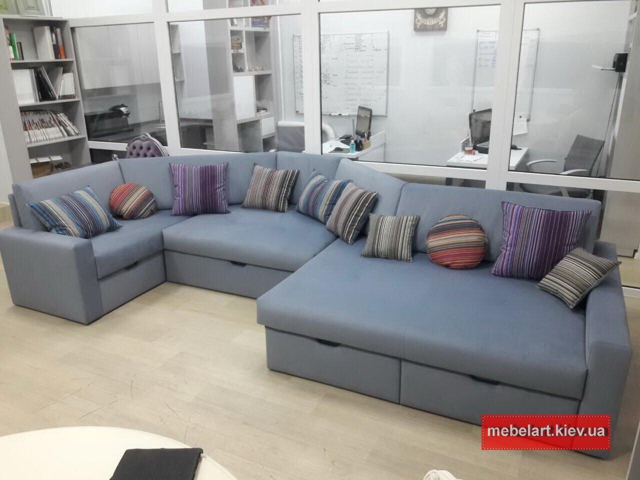 двухугловой диван под заказ в Киеве
