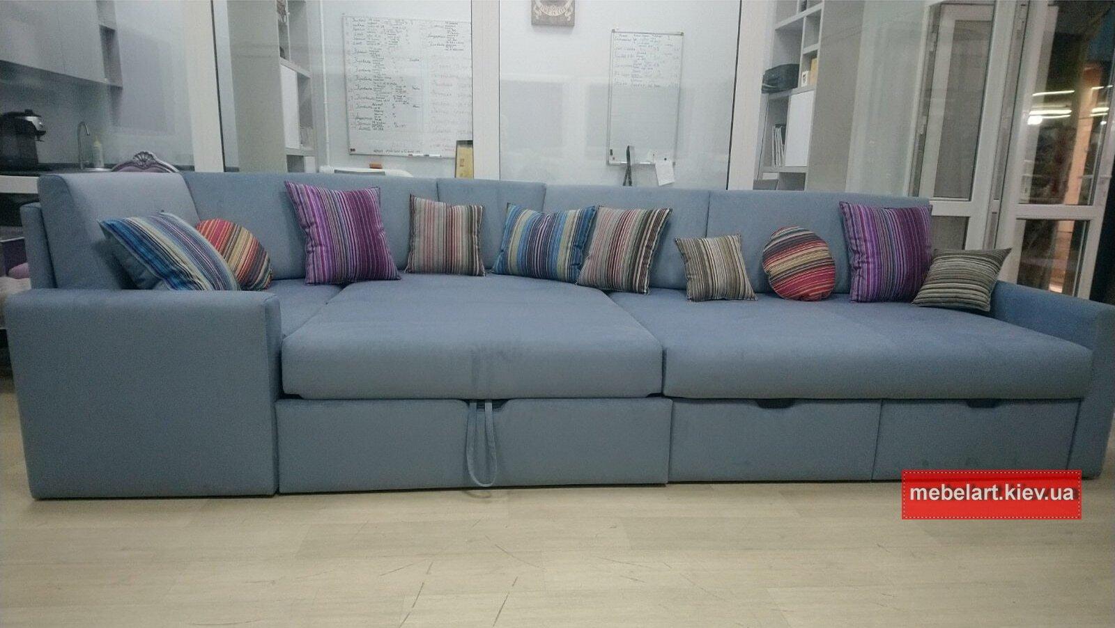 двухугловой диван раскладной