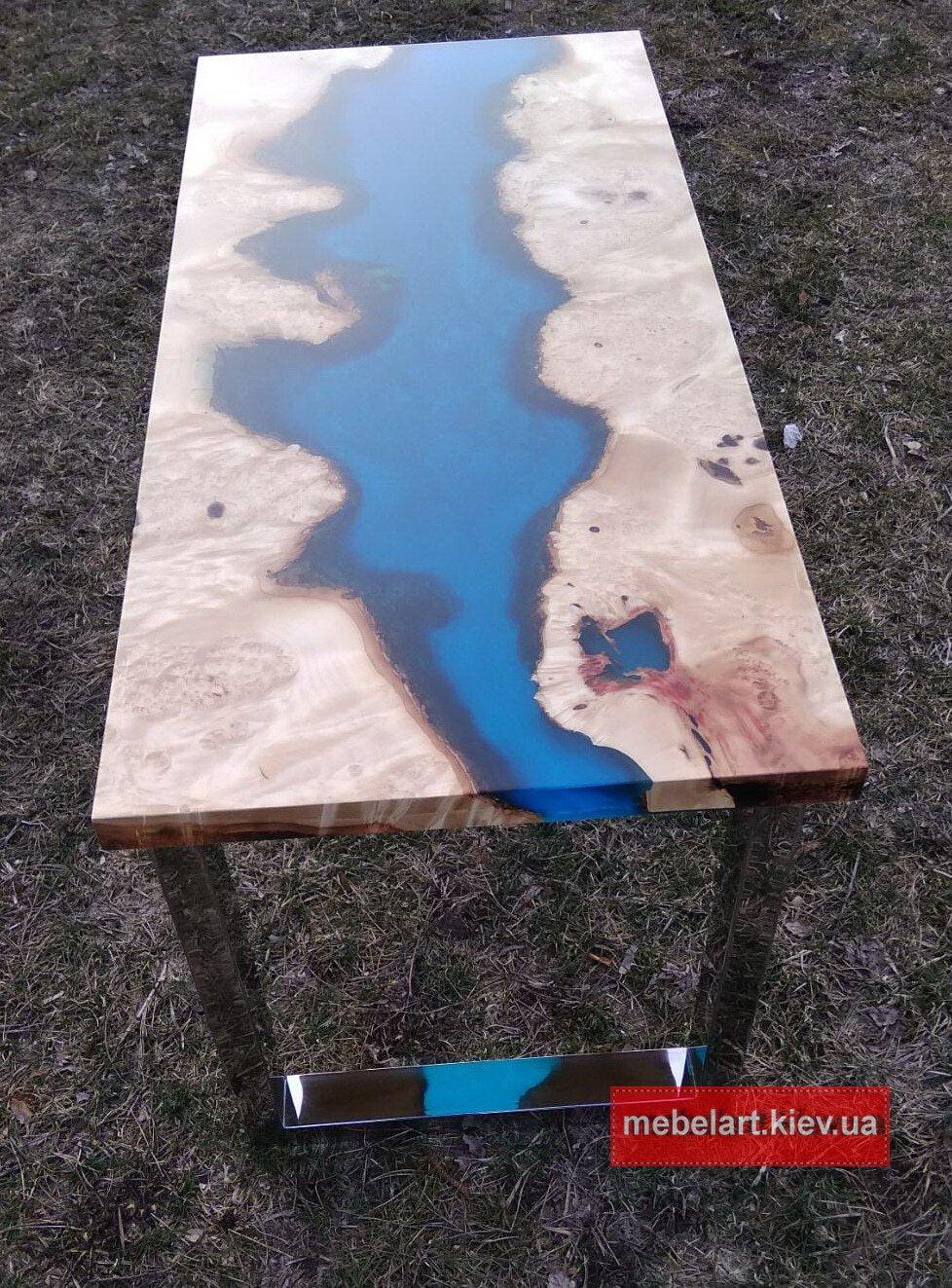 ИванШИКИРАВЫЙ изготовление столов река