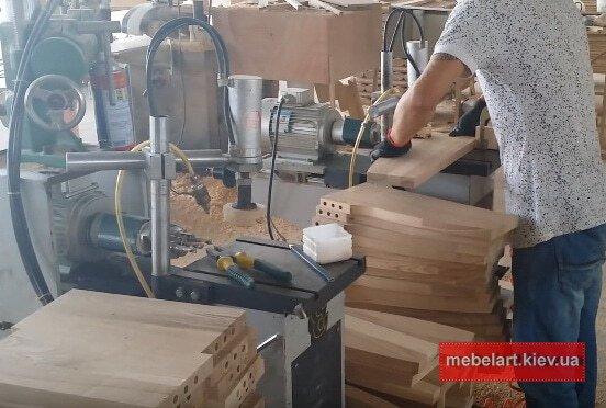как делают деревянные кухни в Обухове