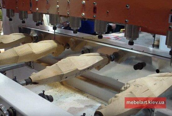 деревянная мебель на ЧПУ Обухов