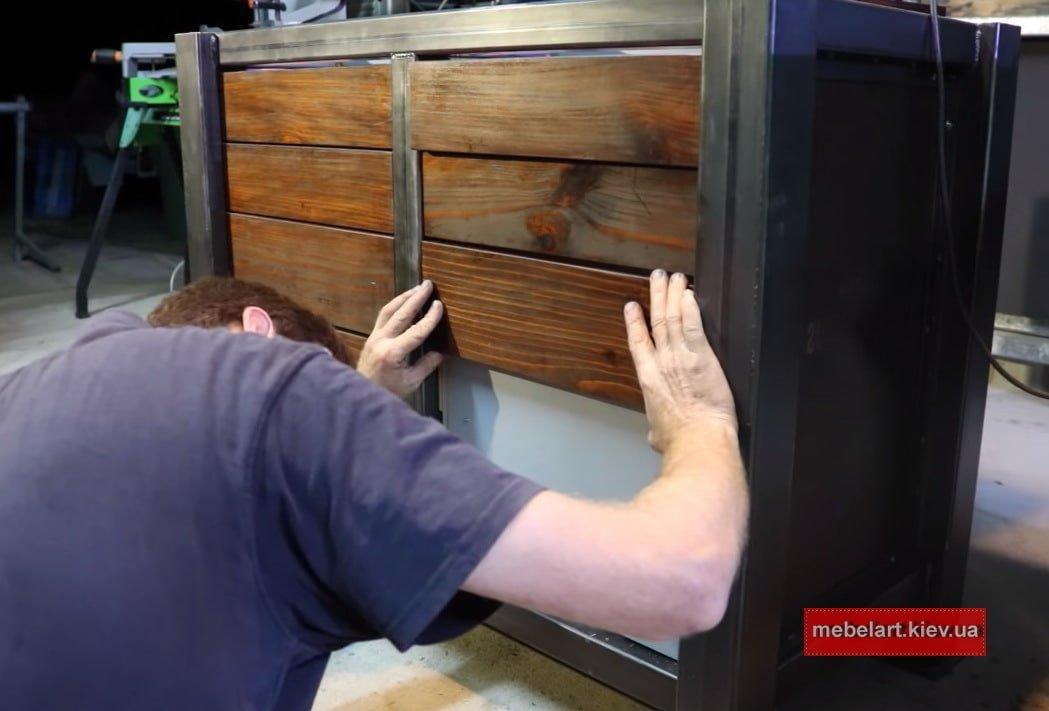 производитель деревянной мебели loft черновцы