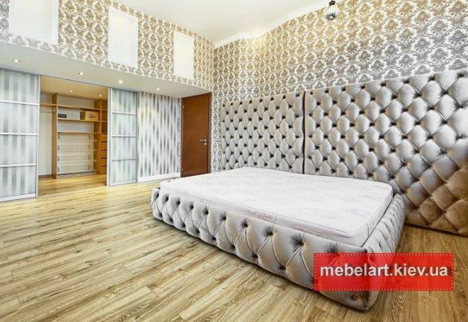 огромная дизайнерская кровать по индивидуальному проекту Закарпатье