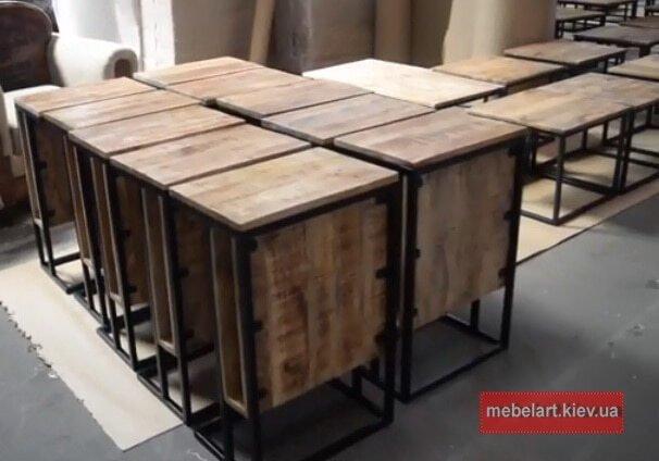 Мебель из дерева в Киеве лофт