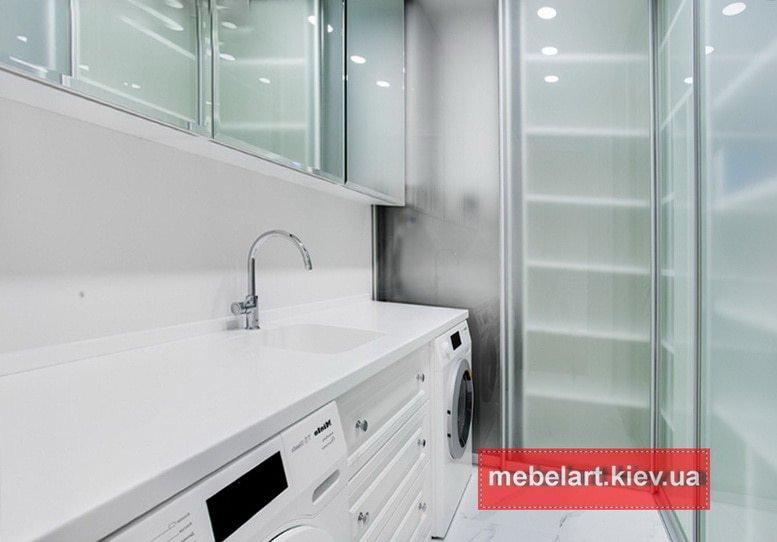 мебель для ванной на заказ в киеве