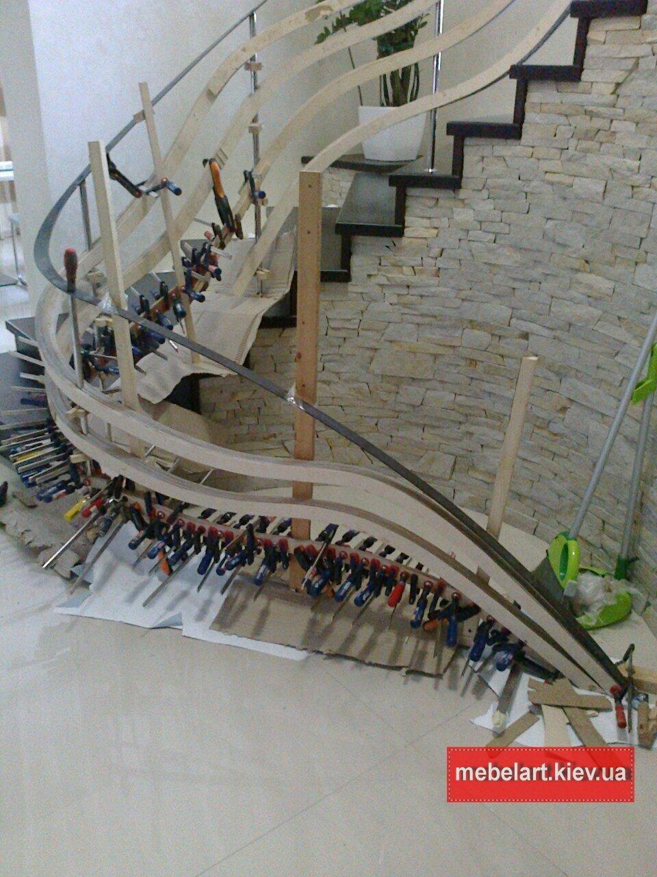изготовить винтовую лестницу своими руками