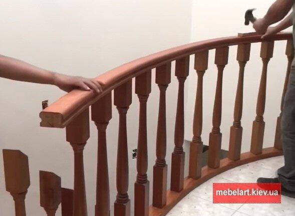 зказать лестницу из дерева стоимость