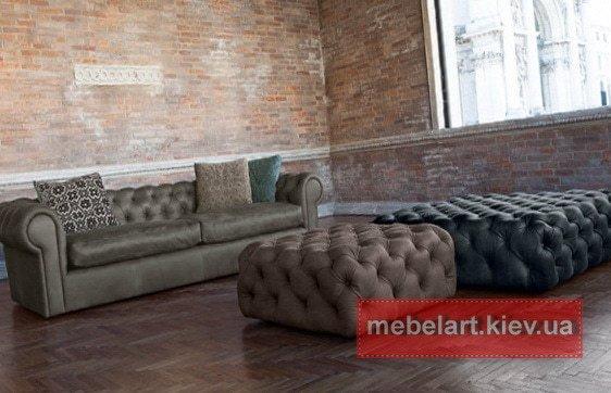 дизайн прямого дивана