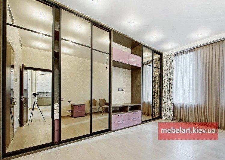 современный шкаф для спальни