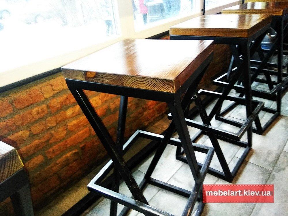 стулья лофт из дерева под заказ