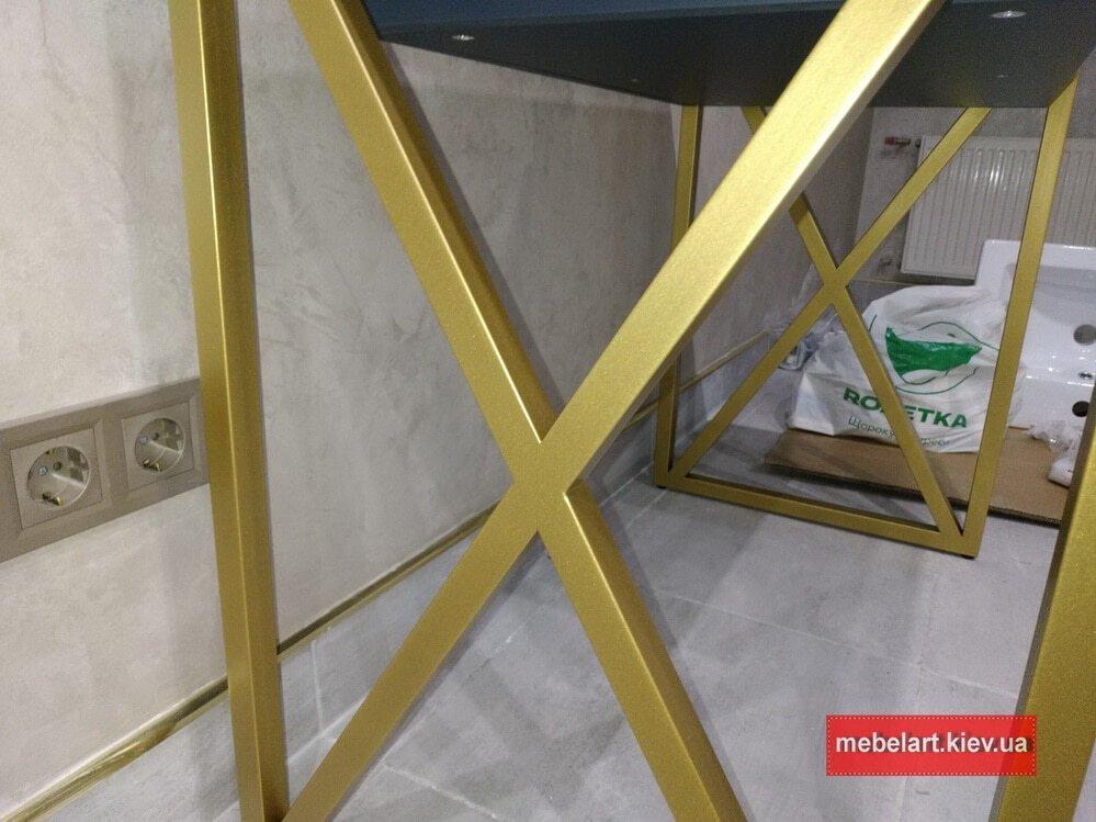 заказать изготовление стола из металла