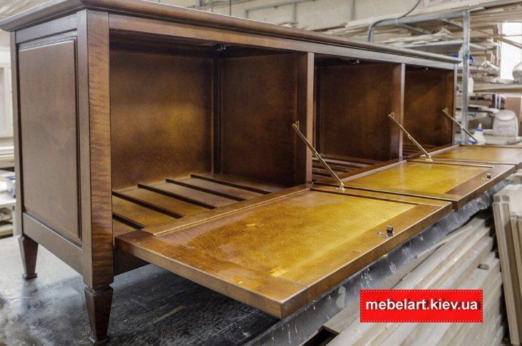 мебель из массива ясеня от производителя печерск