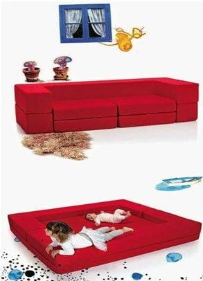 раскладной мягкий умный диван