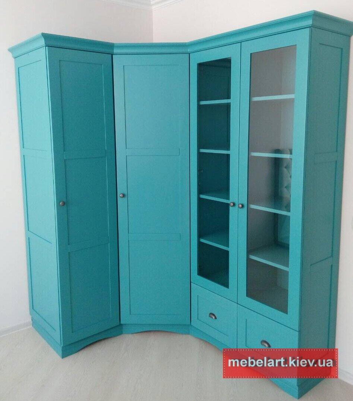 деревянный кухонный шкаф под заказ Козин