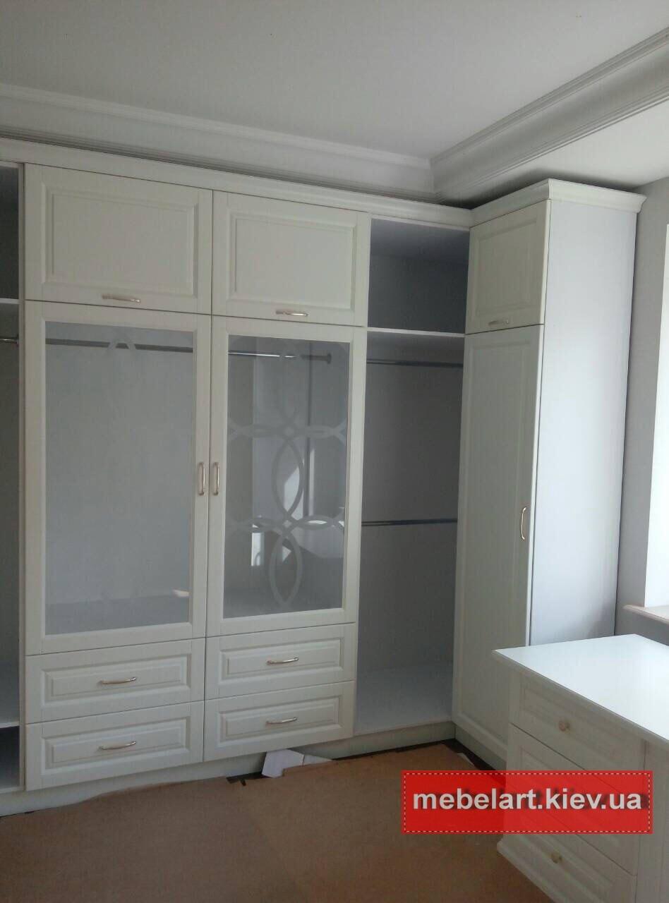 заказная мебель в спальню из массива ясеня