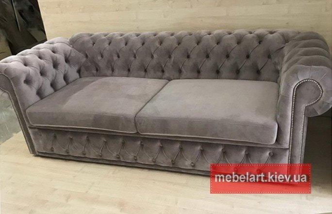 мягкая мебель прямая в стиле честер