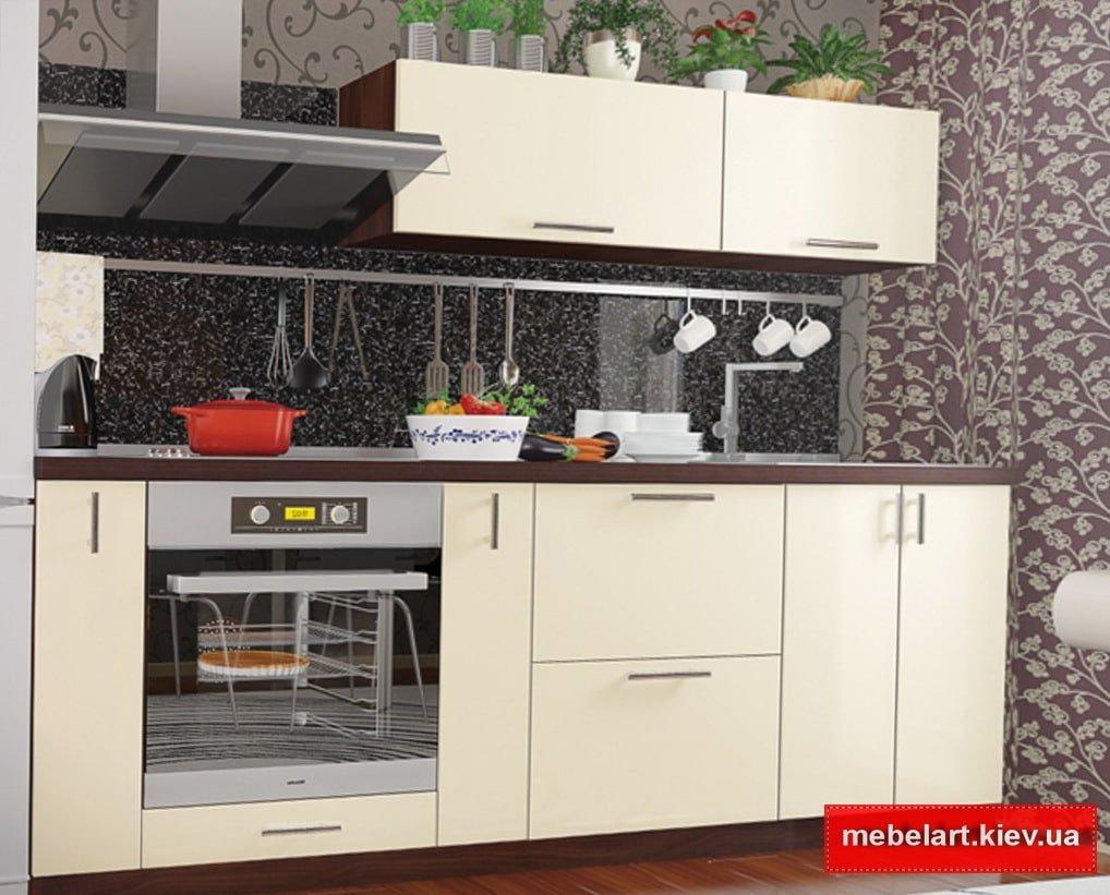 колор микс белая кухня