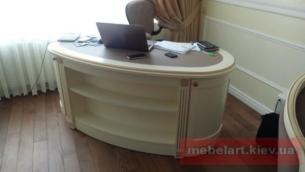 Мебель из массива дуба на заказ  барокко