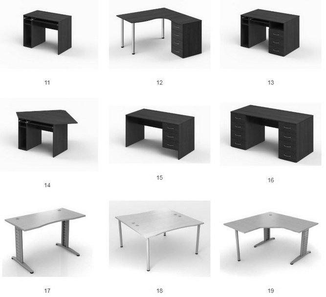 эргономические столы на заказ